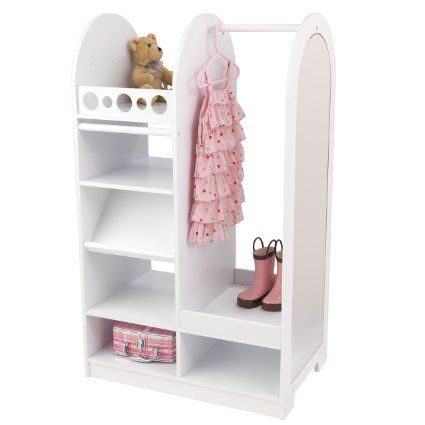 Guidecraft Dress Up Storage Center White G98098