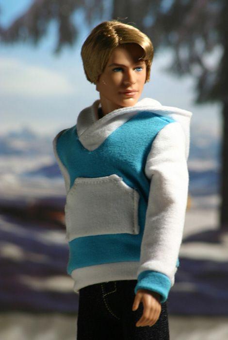 Ken sweater: hooded sweatshirt (Ken clothes)