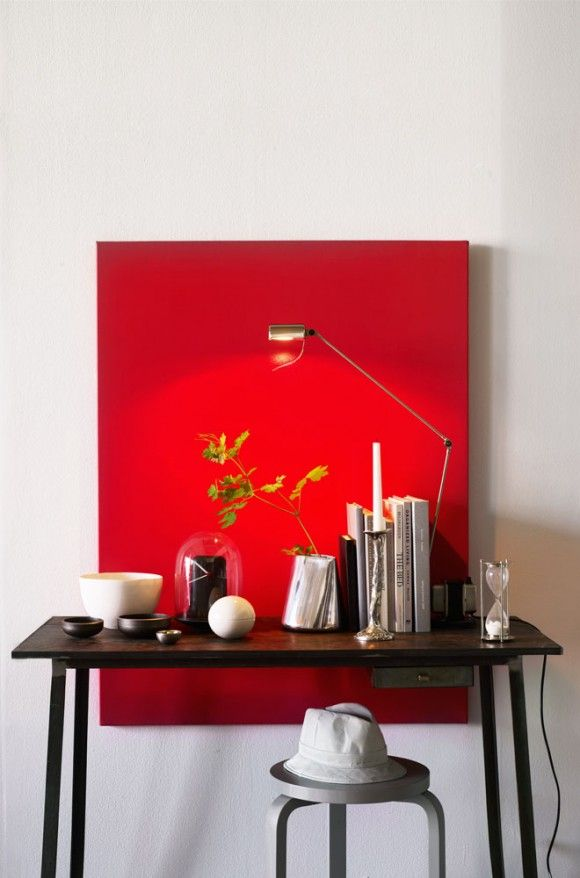 monochrome canvas - i like this idea!