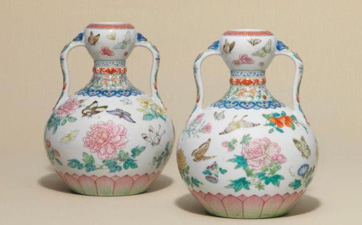 Christie's Chinese vases Qianlong Emperor