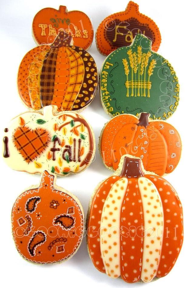 44 best Halloween Cookies images on Pinterest Fall cookies - halloween pumpkin cookies decorating