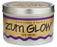 Indigo Wild Zum Glow Soy Candle - Frankincense & Myrrh. Lighting an all-natural aromatherapy candle can help induce deep relaxation. Find this and other great scents at EarthTurns.com. Free Shipping on all orders within the USA! :) :)  #relaxation