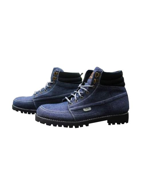 Upper : Blue Denim Outsole : Rubber Landrover Linning : Black Style Insole : Syntetic Leather with Spon Comfort IDR 270.000   official 085722140202 pin 31599BE5