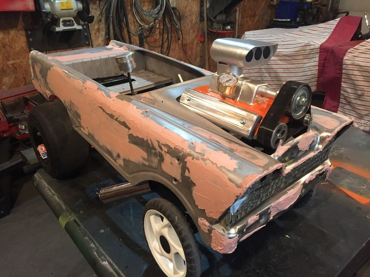 Gasser pedal car 1959 Murray flat face
