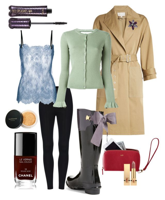 """""""Rainy Day Quirky"""" by catalina-lopez on Polyvore featuring Vanessa Bruno, Joules, tarte, Philosophy di Lorenzo Serafini, RED Valentino, Mark & Graham, Chanel, Yves Saint Laurent and Bare Escentuals"""