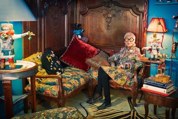 #irisapfel #interiordesigner #fashionicon