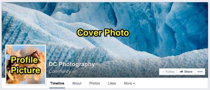 Facebook Cover Photo Size - It's now displayed at 828px wide by 315px high (it used to be 851px by 315px)