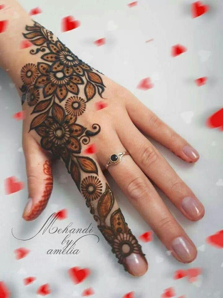 Mehndi Henna Hair : Mehndi design more like this at fosterginger