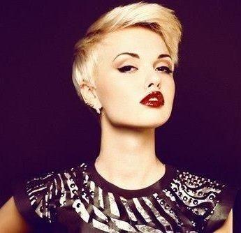 edgy Blonde Pixie Cut #ghdSecrets