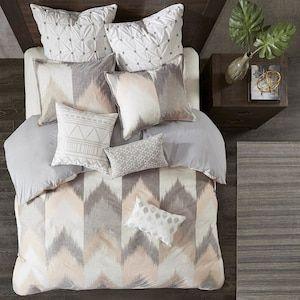 Alpine 4-Piece King/California King Comforter Set in Blush | Nebraska Furniture Mart