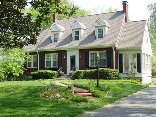 17 best images about cape cod exterior on pinterest cape for Pictures of cape cod style homes