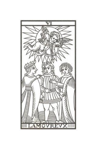 El Enamorado Tarot de Marsella de Jodowrosky
