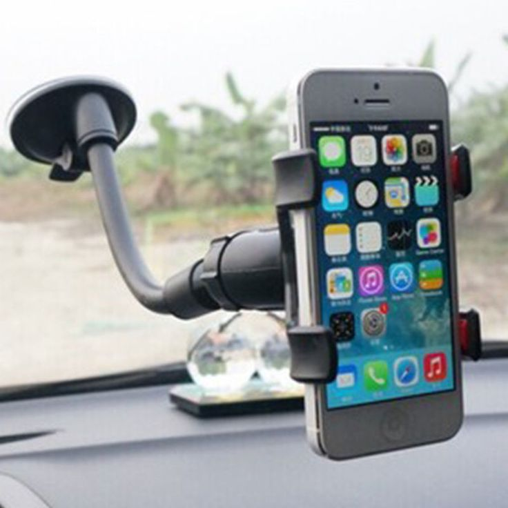 "Item Type: Car Phone Holder. 1 x Car Phone Holder. Clip maximum open size: 95mm/3.74"". Anyway we will try our best to avoid this kind of thing. Features: Double-chuck, durable, stable and strong suction, 360 degree rotation, gooseneck. 