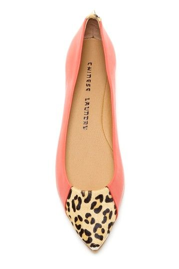 Chinese Laundry: Extra Credit Leopard Spike Flat on HauteLook