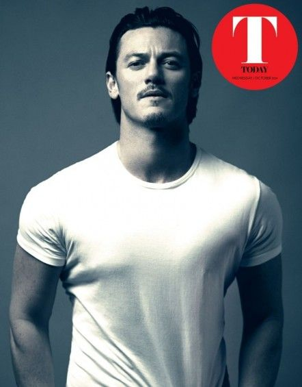 Luke Evans Today Magazine