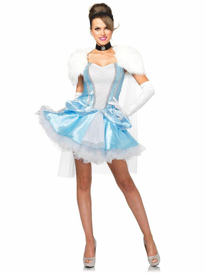 SLIPPER-LESS SWEETIE CINDERELLA LEG AVENUE WOMENS COSTUME Halloween Cosplay W7