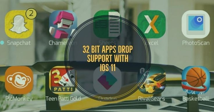 http://ift.tt/2oVLIos dropping 32-bit app support entirely with iOS 11 http://ift.tt/2nSDWHG  According to developer Steven Troughton-Smith Apple will drop support for 32-bit apps with upcoming iOS 11 that means many legacy apps will no longer supports due to which the developer of this app needs to update it to improve its compatibility to run on iOS 11.  As earlier starting with iOS 10.3 Apple has started alerting and slowly been cracking down on 32-bit iOS apps but it will now completely…