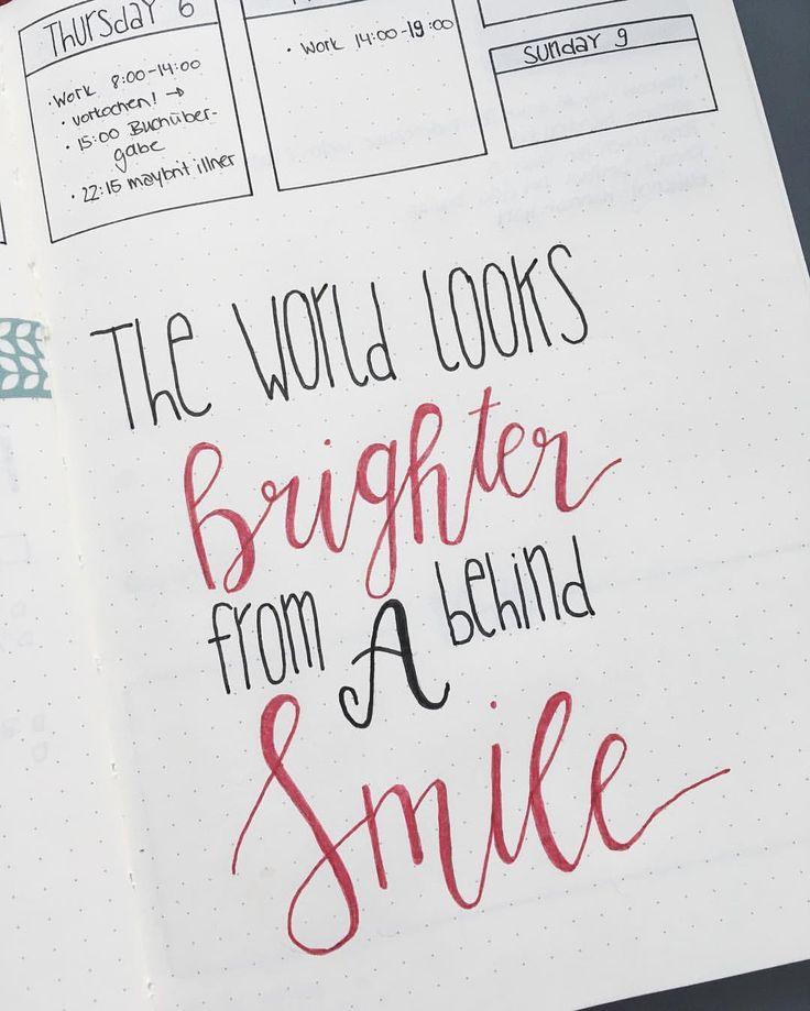 """Gefällt 65 Mal, 10 Kommentare - Michelle von michilicious.com (@michiliciousblog) auf Instagram: """"Quote of the day since it's World Smile Day! ☺️ Heute ist Tag des Lächelns! Außerdem ist Freitag…"""""""