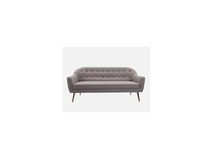 Sofa Fun Tastic 3-Seater — Sofy Kare Design — sfmeble.pl  #scandinavian  #style  #interior  #homedesign #sofa  #couch  #home  #sfmeble
