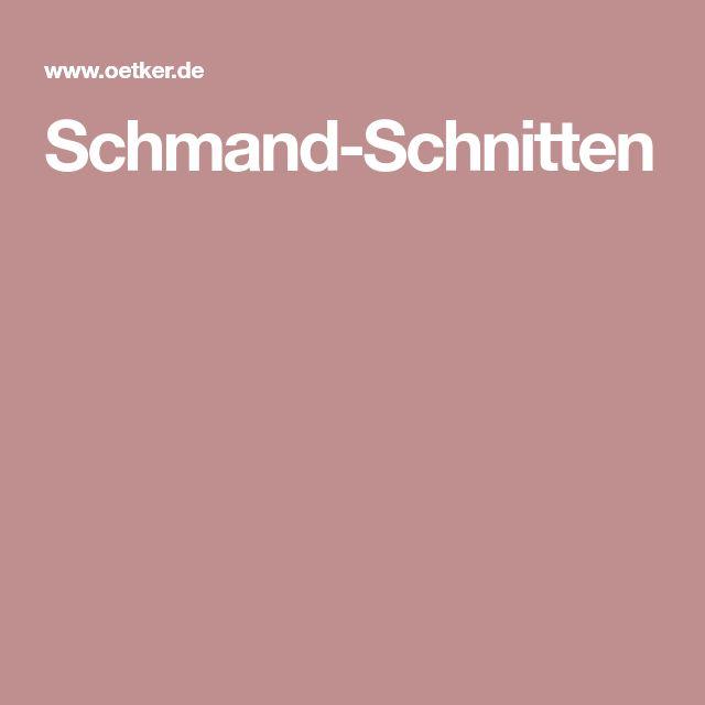 Schmand-Schnitten