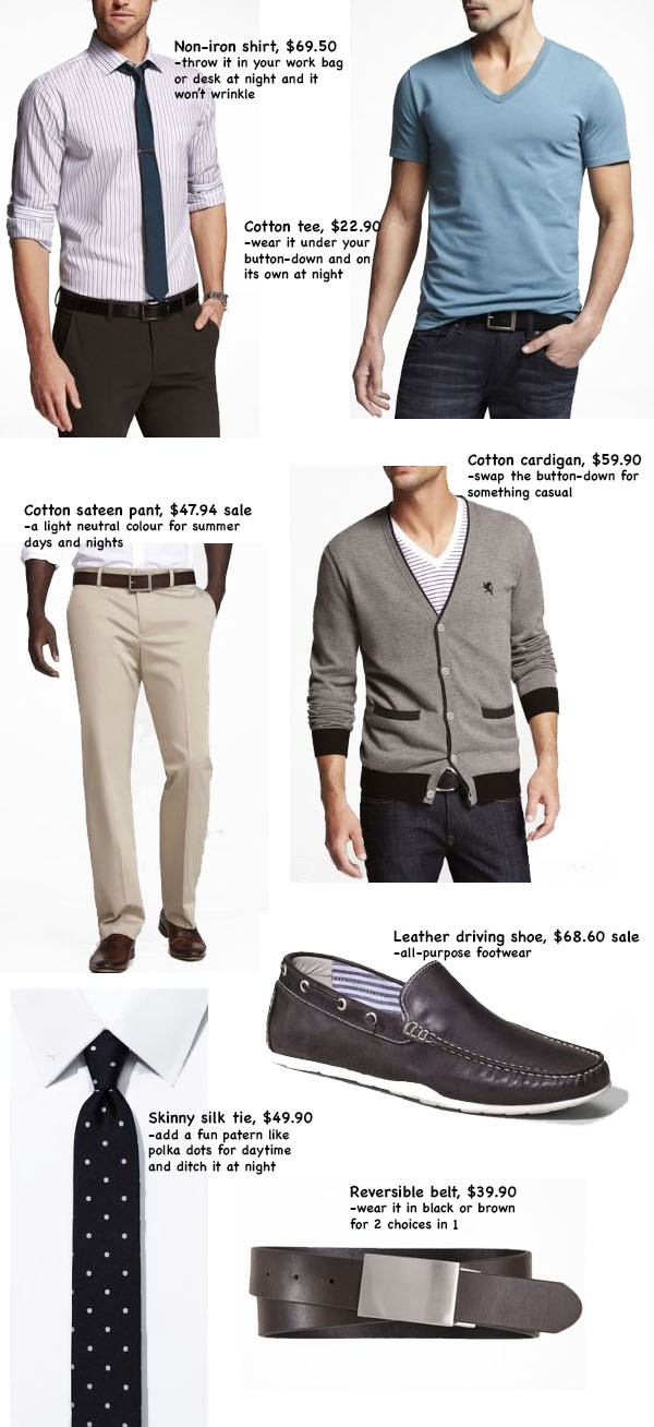 Work-to-play outfit from Express.