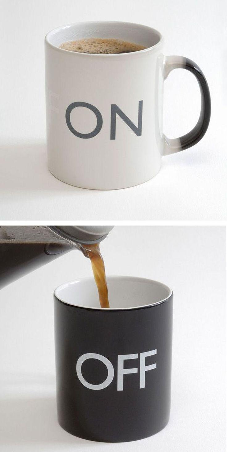 On Off Color-Changing Coffee Mug