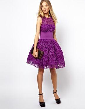Image 4 ofASOS Prom Dress With Elastic Waist