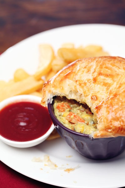 YIAH Bay of Bengal Curry Chicken Pie - check out the Catalogue for the recipe!
