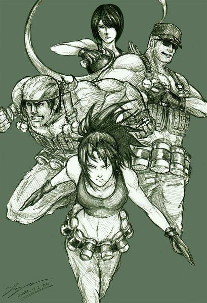 ikari warriors team
