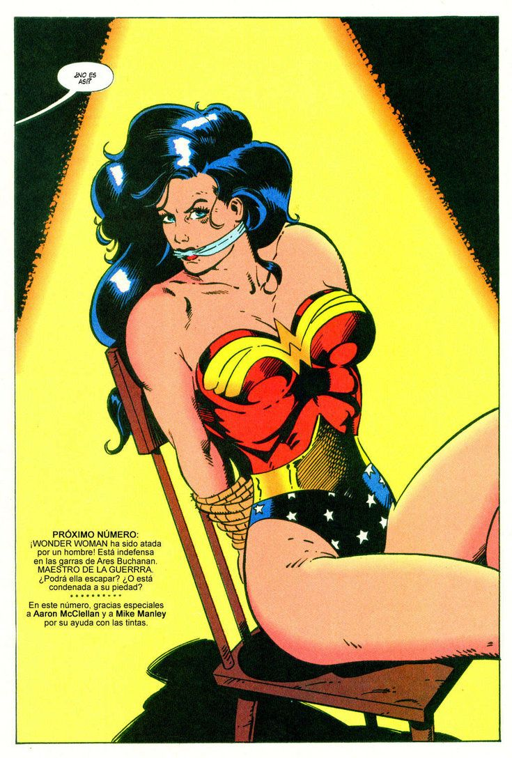 Wonder Woman Bound And Gagged By Detectivesambaphile On -1784