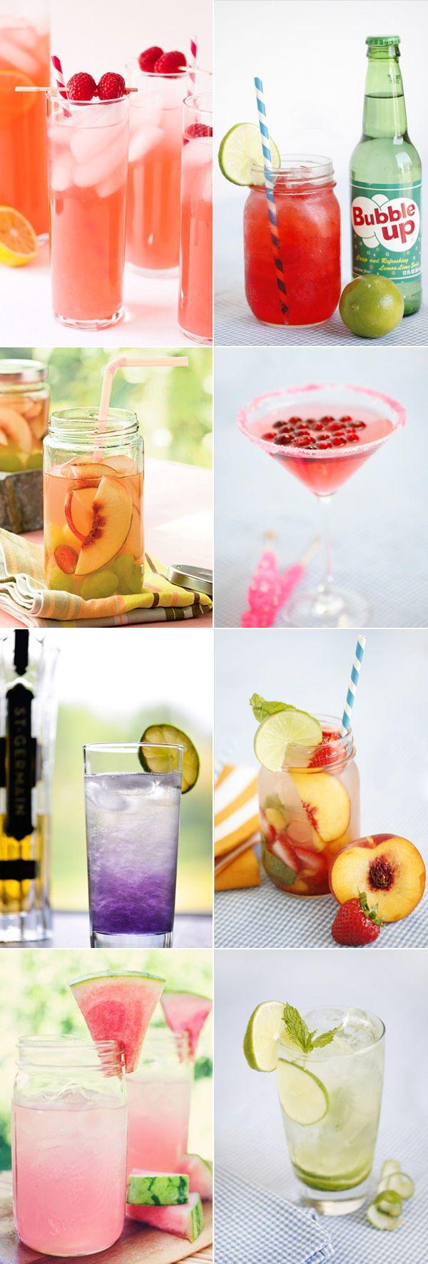 Creative Fruity Drinks.