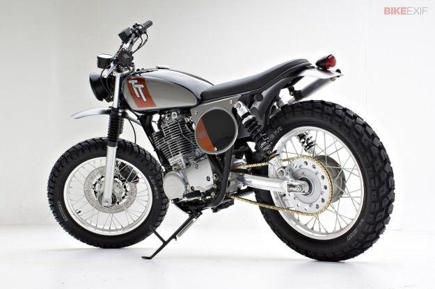 2015 Yamaha SR400 USA model by Palhegyi Design