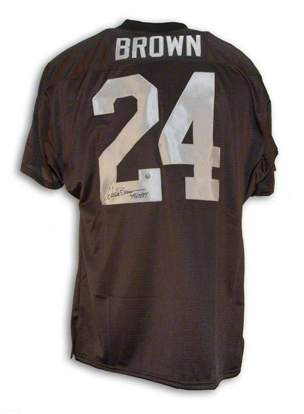 d55a965e269 sweden willie brown autographed oakland raiders throwback jersey inscribed  hof 84 . 084c4 db363