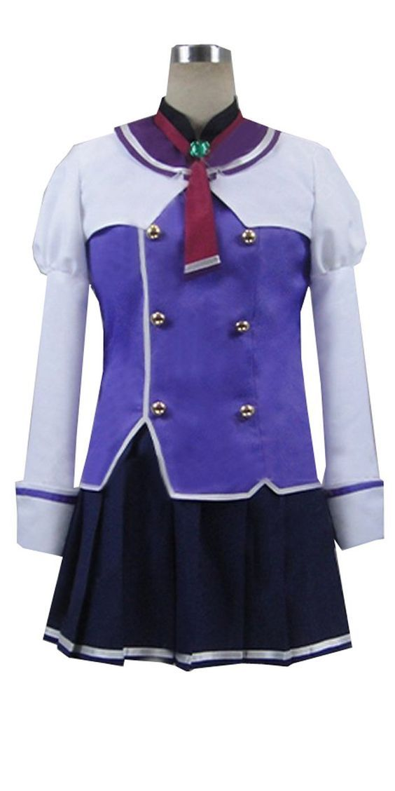 CosEnter Sky Wizards Academy Misora Whitale uniform Cosplay Costume ** Read more reviews of the product by visiting the link on the image.