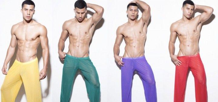 New N2N loungewear - Sheer pants for men | Loungewear, All ...