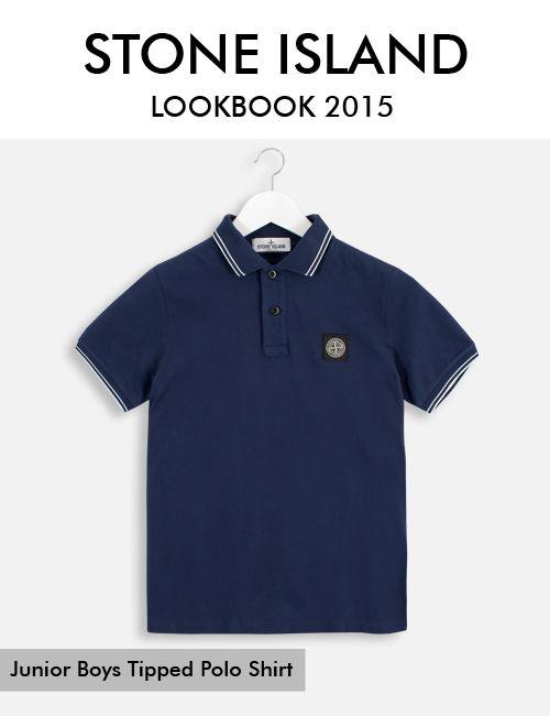 STONE ISLAND JUNIOR BOYS TIPPED POLO SHIRT @basefashionuk #basefashion #basestyle #stoneisland     Shop the top:   http://www.basefashion.co.uk/boys-designer-clothes-c6/polo-shirts-c37/stone-island-junior-boys-tipped-polo-shirt-p39843?attribute[1]=444