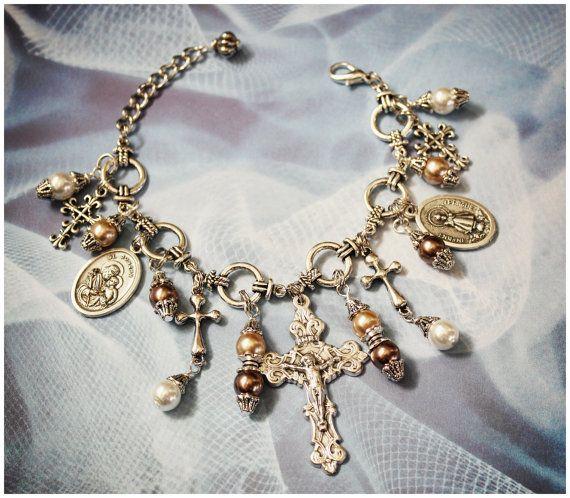 Religious Charm Bracelets: Best 25+ Religious Jewelry Ideas On Pinterest