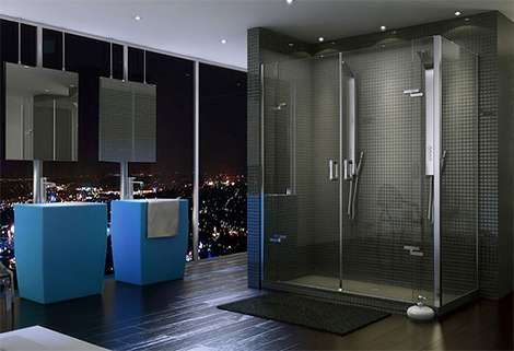Ultra Modern Showers ultra-minimalist showers | the o'jays, shower doors and doors
