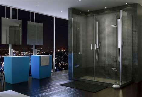 Ultra Modern Showers ultra-minimalist showers | the o'jays, shower doors and doors