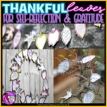 Thankful Leaves! Showing gratitude has been proven to increase long-term well-being, improve health, relationships, emotions and help us bounce back from stressful experiences. In this pack you will receive a range of different leaf patterns in 2 different sizes: whole page and half page.
