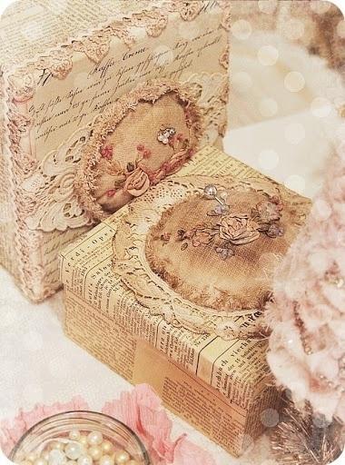 Shabby boxes