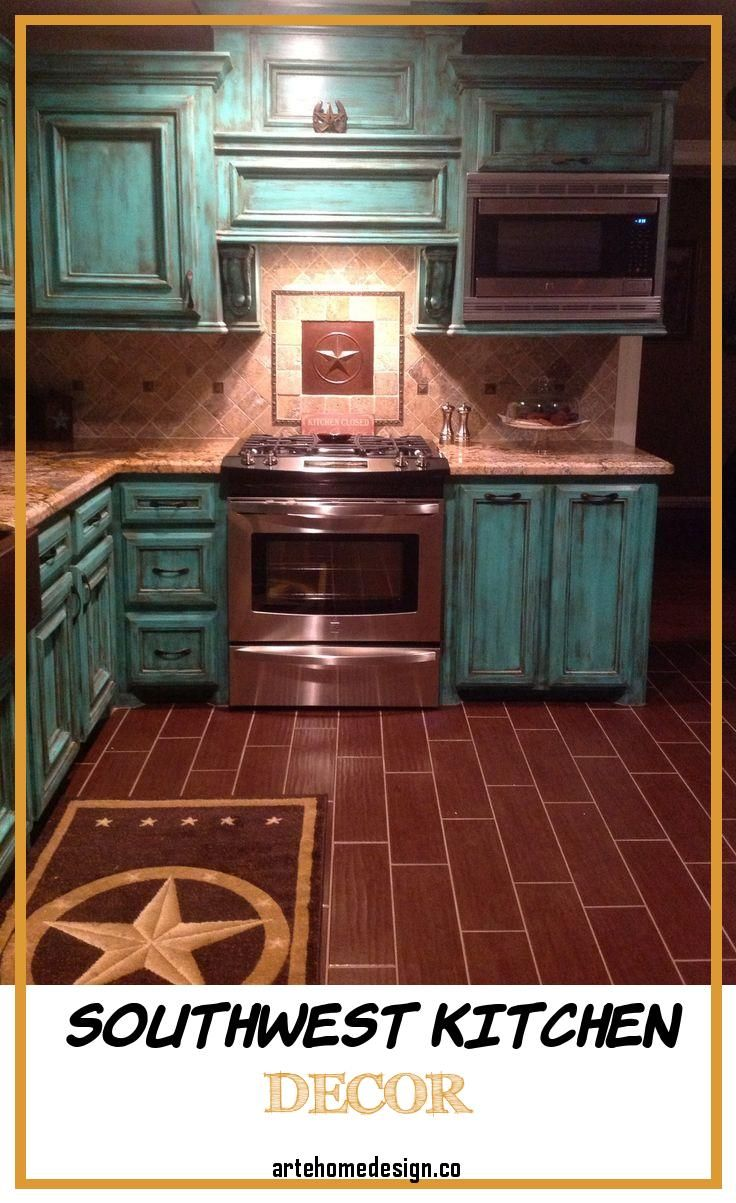 Southwest Kitchen Decor In 2020 Rustic Country Kitchens Rustic House Western Home Decor
