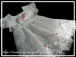 White Dress free crochet graph pattern.Love  it!