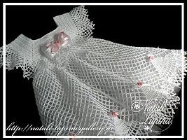 White Dress free crochet graph pattern.Love  it!