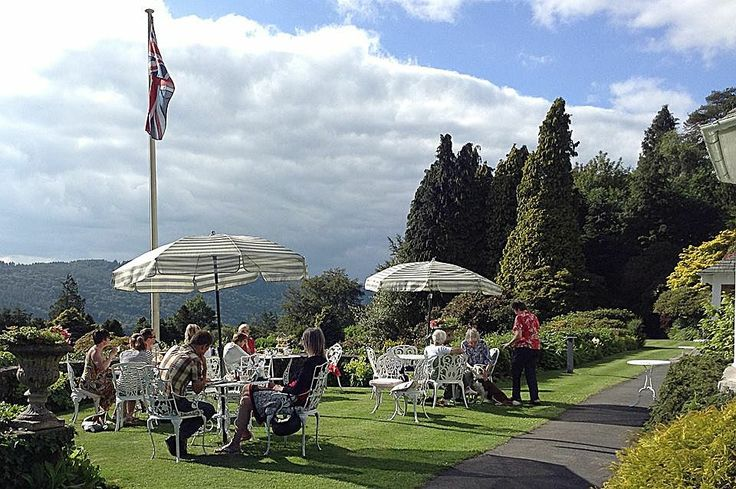 Lindeth Fell #HotelinWindermere - the perfect place to enjoy a spot of #AfternoonTea on #MidsummersDay!