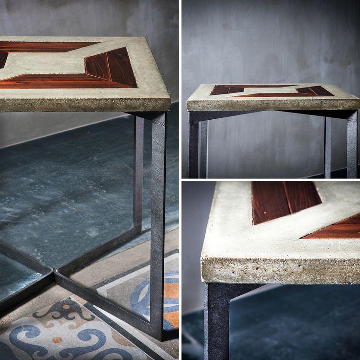 #handmade #concrete #with #wood  #unique #design #greymatters #metal #legs #cement #beton #shapes #texture #grey #gris #μπετον #τσιμεντο #τραπέζι #τραπεζαρια #γκρι #ξύλο #ψονψρετε #γρευματτερσ