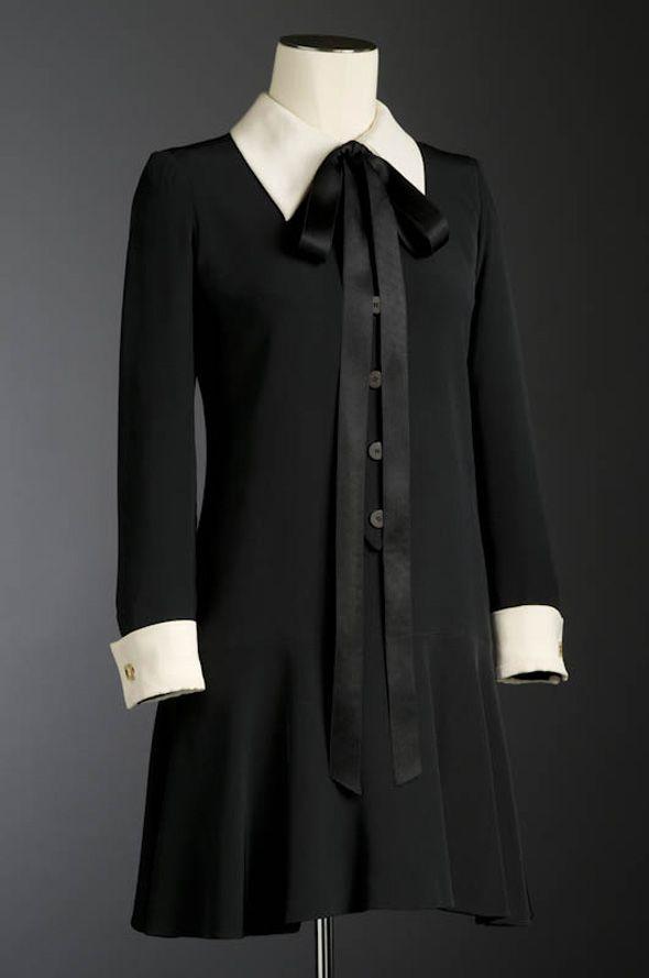 "Minidress, ""La Perouse,"" Yves Saint-Laurent: 1969."