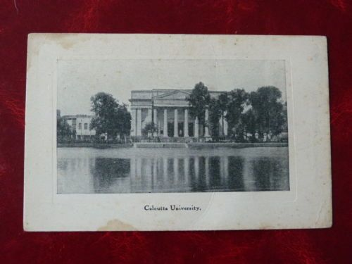 Post-Card-Featuring-034-Calcutta-University-034-unposted