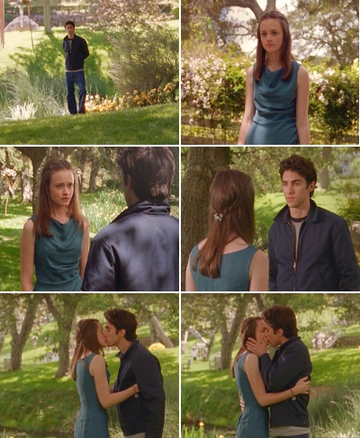 Rory: Don't say a word! I have to go. #gilmoregirls