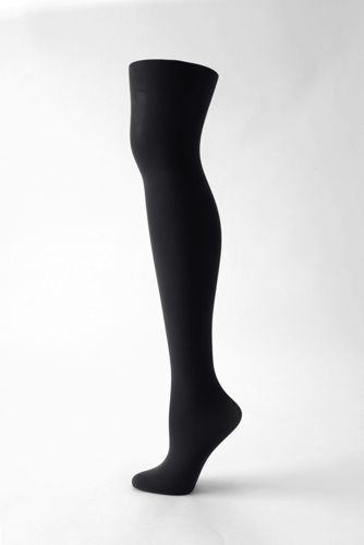 Women's Matte Tights from Lands' End